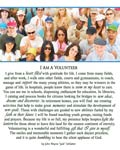 I Am A Volunteer Print